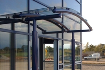Glass Balustrade Canopy by First Impressions
