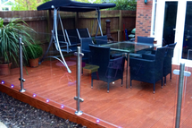 Glass Balustrade Blacony by First Impressions